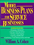 Buy Model Business Plans for Service Businesses from Amazon