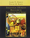 Strategic Human Resources: Frameworks for General Managers - book cover picture