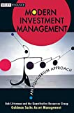 Buy Modern Investment Management: An Equilibrium Approach from Amazon