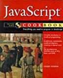 Javascript Cookbook - book cover picture
