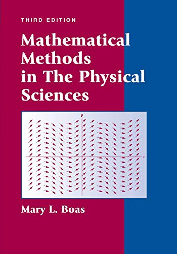 PDF Mathematical Methods in the Physical Sciences 3rd Edition