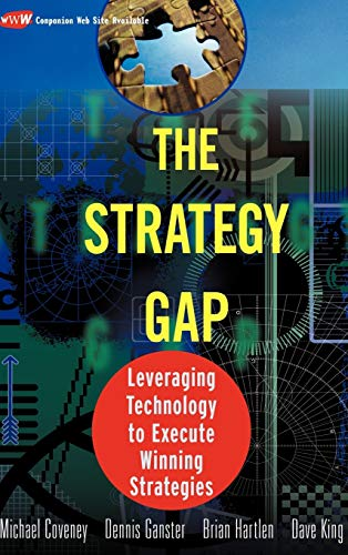 Book Cover: The Strategy Gap: Leveraging Technology to Execute Winning Strategies