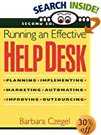 Running an Effective Help Desk, 2nd Edition