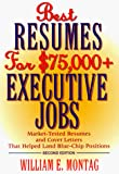 Best Resumes for $75,000 + Executive Jobs, 2nd Edition - book cover picture