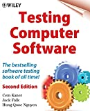 Testing Computer Software, 2nd Edition - book cover picture