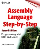 Assembly Language Step-by-step: Programming with DOS and Linux (with CD-ROM) - book cover picture
