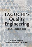 Buy Taguchi's Quality Engineering Handbook from Amazon