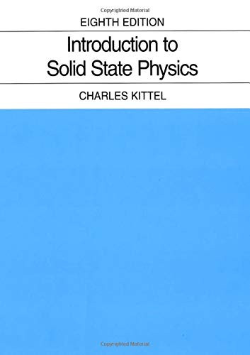 Cover of Introduction to Solid State Physics