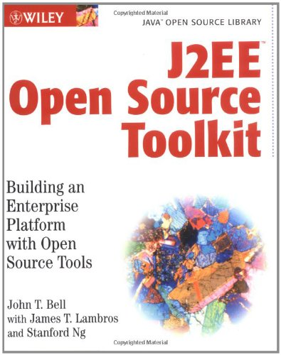 Book cover for J2EE Open Source Toolkit Building an Enterprise Platform with Open Source Tool