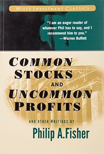Common Stocks and Uncommon Profits and Other Writings Book Cover Picture