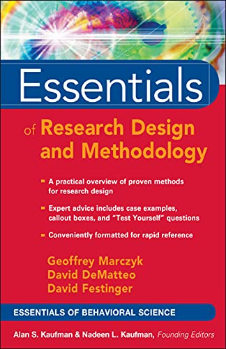Designing a research study research methods information essentials of research design and methodology by geoffrey r marczyk david dematteo david festinger malvernweather Gallery