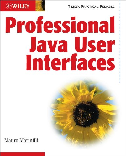 Book Cover: Professional Java User Interfaces