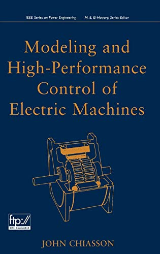 PDF Modeling and High Performance Control of Electric Machines