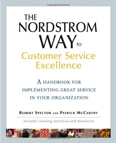 book cover for The Nordstrom Way to Customer Service Excellence A ...