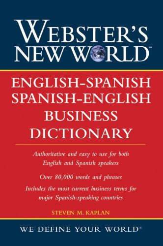 Webster's New World English-Spanish/Spanish-English Business Dictionary