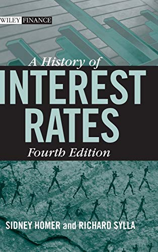 A History of Interest Rates, Fourth Edition Book Cover Picture