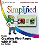 Creating Web Pages with HTML Simplified book cover