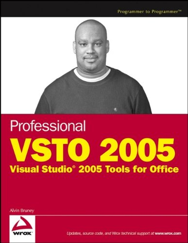 Book Cover: Professional VSTO 2005: Visual Studio 2005 Tools for Office (Programmer to Progr