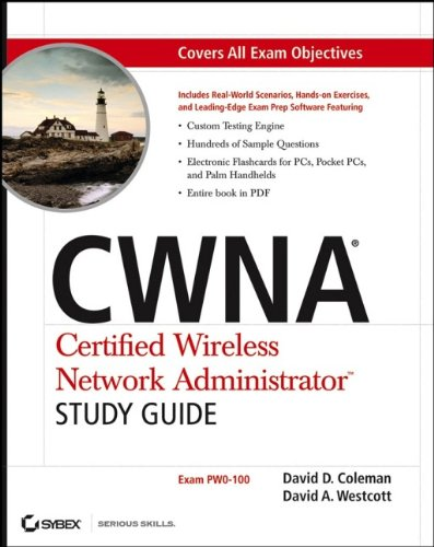Book Cover: CWNA: Certified Wireless Network Administrator Study Guide (Exam PW0-100)