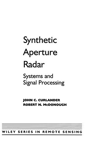 pdf  synthetic aperture radar  systems and signal