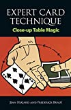 Expert Card Technique: Close-Up Table Magic - book cover picture