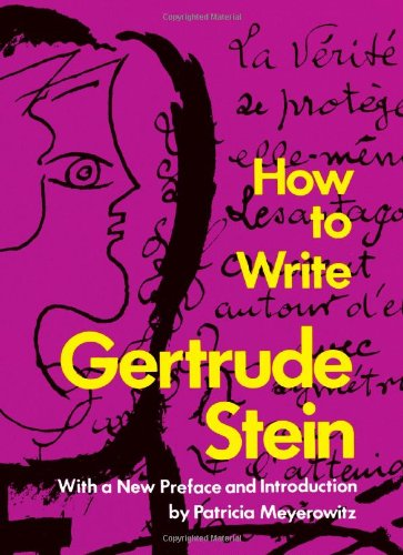 How to Write, Stein, Gertrude