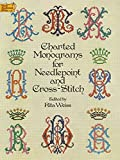 Charted Monograms for Needlepoint and Cross-Stitch (Dover Needlework Series)