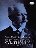 Fourth, Fifth and Sixth Symphonies in Full Score - book cover picture