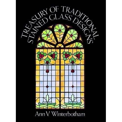 View 1930s designs or recommend books for 1930s stained glass window designs