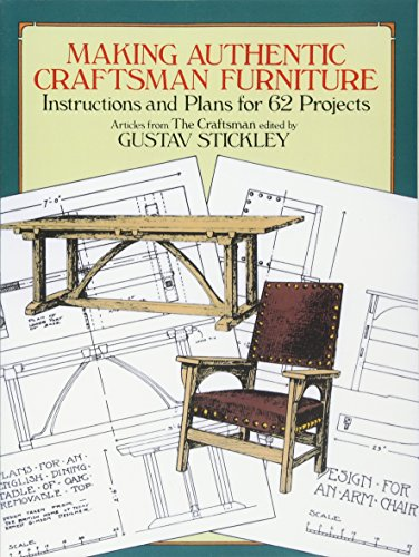 making authentic craftsman furniture instructions and craftsman style furniture plans home design ideas