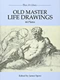 Old Master Life Drawings : 44 Plates (Dover Art Library) - book cover picture