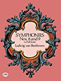 Symphonies Nos. 8 and 9 in Full Score - book cover picture