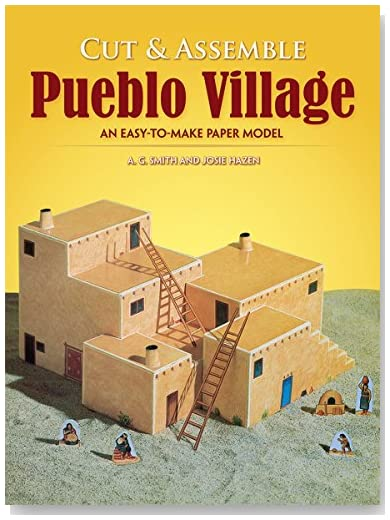 Easy-to-Make Pueblo Village