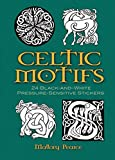 Celtic Motifs: 24 Black and White Stickers