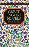 Cover Image of Great English Novels/Pride and Prejudice/a Portrait of the Artist As a Young Man/Heart of Darkness/the Picture of Dorian Gray by Austen published by Dover Pubns
