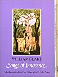 Favorite Works of William Blake: Three Full-Color Books : Songs of Innocence, Songs of Experience, the Marriage of Heaven and Hell - book cover picture