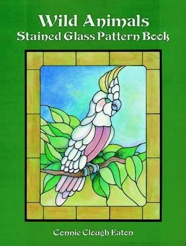 Wild Animals Stained Glass Pattern Book (Dover Stained Glass Instruction)