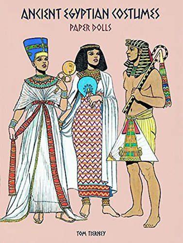 PDF Ancient Egyptian Costumes Paper Dolls Dover Paper Dolls
