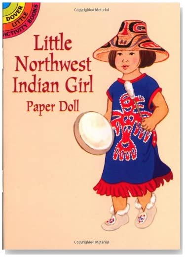 Little Northwest Indian Girl Paper Doll