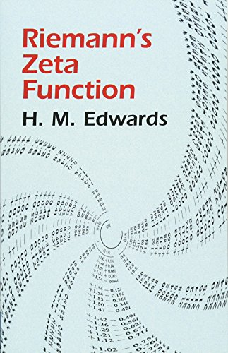 Riemann's Zeta Function by Harold M. Edwards (Author)