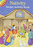 Nativity Sticker Activity Book (Dover Little Activity Books)