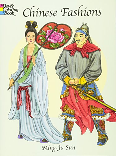 Chinese Fashions (Dover Fashion Coloring Book)