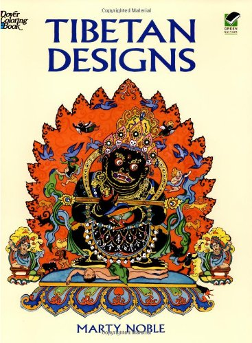 Tibetan Designs (Dover Design Coloring Books), Marty Noble