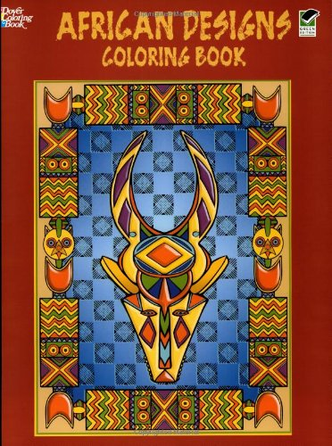 African Designs Coloring Book (Dover Design Coloring Books)