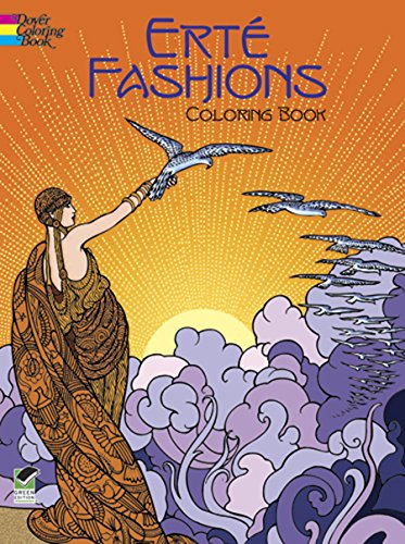 Erte Fashions Coloring Book (Dover Fashion Coloring Book)