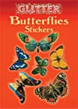 Glitter Butterflies Stickers