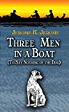 Book Cover: Three Men in a Boat by Jerome K Jerome