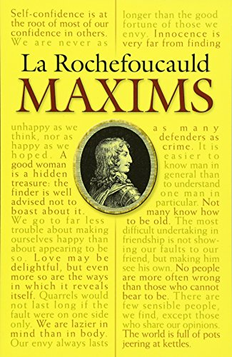 Collected Maxims and Other Reflections