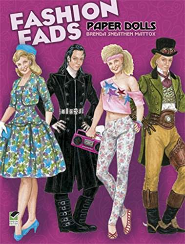 Fashion Fads Paper Dolls (Dover Paper Dolls)