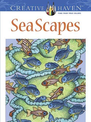 Creative Haven SeaScapes Coloring Book (Creative Haven Coloring Books) - Patricia J. Wynne, Creative Haven